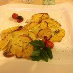 Filetto di San Pietro in crosta di patate