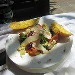 Lovely salad from Rosso Vivo Restaurant
