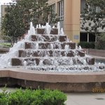 Fountain on the Terrace of the Omni