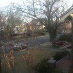 view outside bedroom window 1