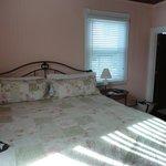 Comfy bedroom!