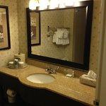 bathroom was spotless