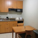 The Kitchenette area (Efficiency room)