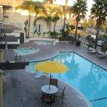 The Hot Tub/Pool area