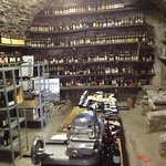 Wine storage in historic grotto in cellar!