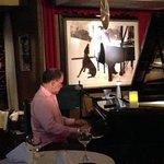Carli at the piano