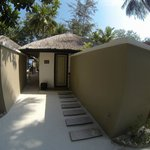 our beach villa