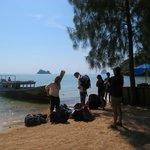 arriving on Koh Yao Noi