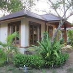 concrete bungalow