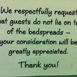Interesting notice.