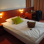 Double room (booked as single)