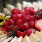 Yummy fruit plate