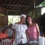 la bahiana que prepara las tapiocas en el desayuno