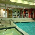 pool & fitness area