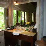 Bathroom vanity.