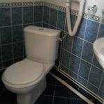 Toilet in quad room