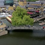 Camden Market from the b