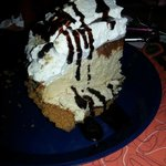 Chocolate peanut butter pie!!  housemade.  Delish!!