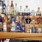 Great selection of Tequila's
