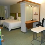 Our room was very spacious and comfortable!