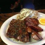 BBQ Rib and Sausage Special Friday Nights