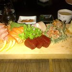Deluxe sashimi (blue tuna or something like that is very different)
