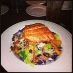 Oriental Salmon Salad was perfect in every way