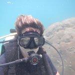 Me actually diving