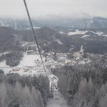 View from the lift to the Zauberberg