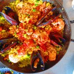Main course Paella