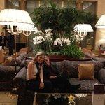 en el Ritz con mi esposa y mi Titi