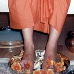 LOTUS FEET OF A SAINT