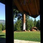 Nakoma patio view towards the golf course