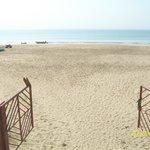 Hotel to Ghoghla beach.