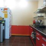 the kitchen of Babushka House