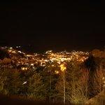 Вид с террасы на вечерний Ортизеи