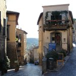 Orvieto cobble lane