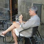 Enjoying Orvieto  Classico and a good cigar!