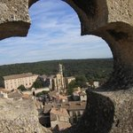 view from top of palace, Uzes