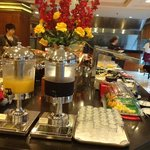 Buffet Breakfast Daily Juices & Fresh Fruits