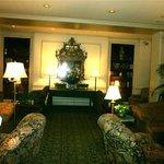 The lobby at the Hawthorne