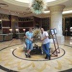 beatiful lobby and large