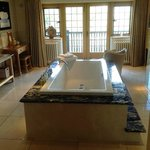 Dartmeet Spa - Yes part of the room. Comes with a double bath, double shower,