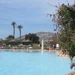'God,King and Country' where Agadir used to be (and pool).