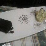 mascarpone con torta Barozzi