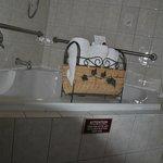 Raum Buckingham - Whirlpool und Dusche