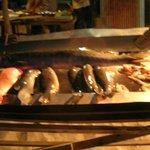 Ganz frischer Fisch