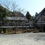 Ryokan view from outside