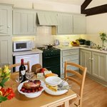 Hayleaze Cottage Open Plan Kitchen/Dining Area