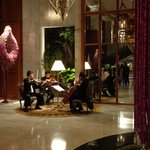 String Quartet playing in the Lobby